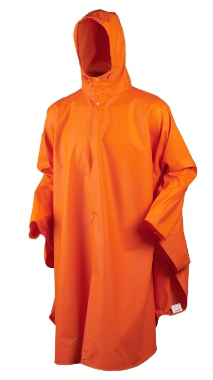 Seeland Poncho RAINY- orange Fluorescent - one size
