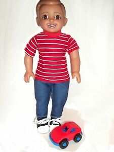 Caleb 18 Inch Boy Doll Hand Crafted One Of A Kind Just