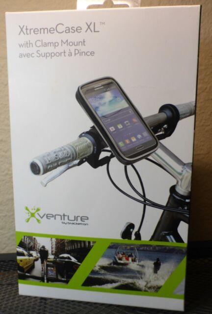 Bracketron Xtremecase Xl Mobile Device Clamp Mount Xv1 701 2 Motorcycle Phone Ebay