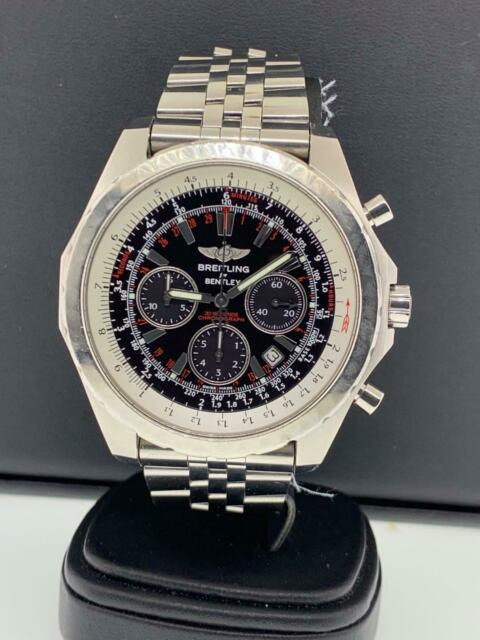 Breitling For Bentley >> Breitling Bentley Motors T Speed Carbon Dial Limited Watch A25365 Serviced