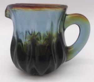 Boyd-Rubina-Art-Glass-Cream-Pitcher-TOOTHPICK-HOLDER-1st-5-years-4173Y