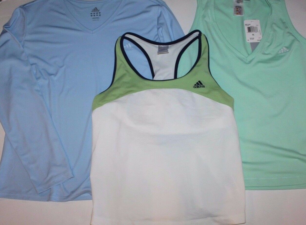 Adidas  EEUC & New Women's XL Lot - 3 Tops