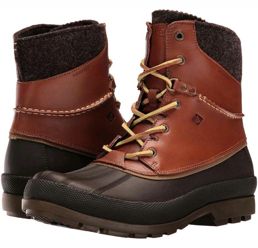 Sperry Cold Bay Sport Duck Boots, Vibram Arctic Grip, Waterproof Winter, 10 Mens