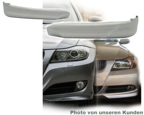 E90 pour BMW e91 BERLINE TOURING FRONT SPOILER Lip Spoiler 20052008 laqué 354