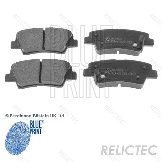 5502223514 EuroBrake Rear Disc Brake Pads