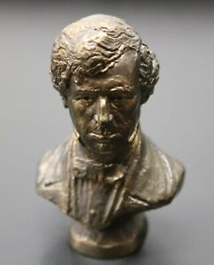 Presidential-Bronce-Busto-Franklin-Pierce-1853-1857-Franklin-Mint-1977
