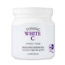 ETUDE HOUSE Toning White C Double Effect Sleeping Pack 100ml [Whitening] KOREA