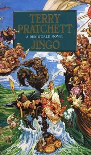 1 of 1 - Jingo: A Discworld Novel: 21 by Pratchett, Terry 055214598X The Cheap Fast Free