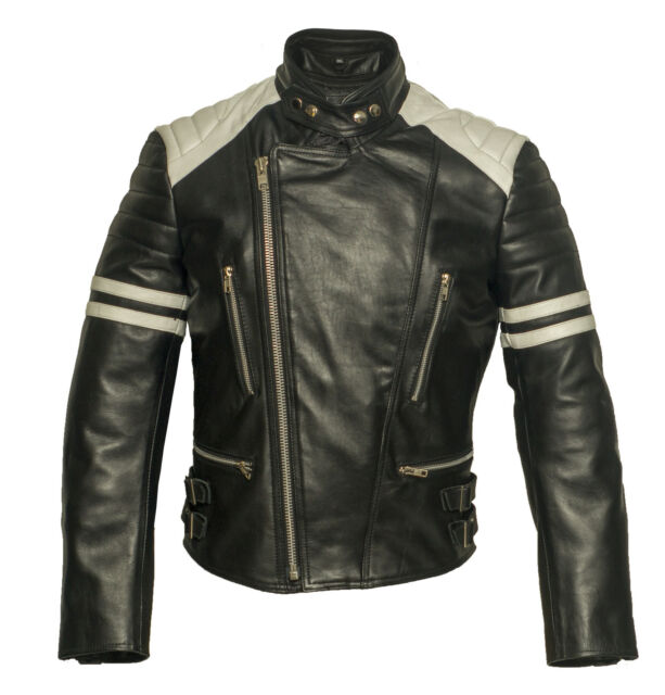 herren motorrad lederjacken retro bikerjacke kollektion. Black Bedroom Furniture Sets. Home Design Ideas