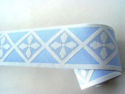 Readyroll selbstklebende Bordüre Borders 5m x 6cm Geo blue blau 60362