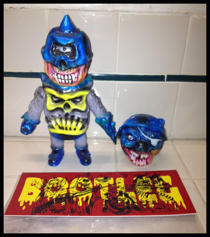 SDCC 2012 Mishka Bootleg Kaiju Figure Batman OneOff L'amour Supreme Paul Kaiju