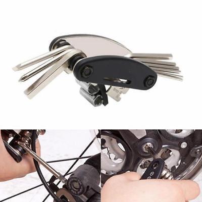 Bike Bicycle Steel Wrench Hexagon Spanner Multi-Function Repair Tool KV