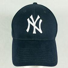 Men's New York Yankees Traditional Blue Logo Adjustable NY Fan Baseball Hat Cap