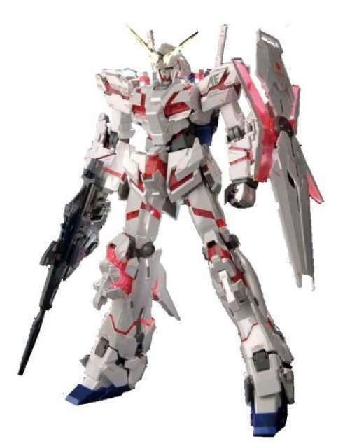 HGUC 1 144 RX - 0 Unicorn Gundam Destroy Mode Titanium Finish Unicorn Gundam F S