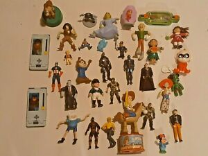 Vintage-Disney-Pixar-McDonald-039-s-1999-Toy-Story-2-Lot-Woody-Rex-Jessie
