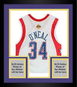 Frmd Shaquille O'Neal LA Lakers Signed M&N 2004 All-Star Hardwood Classic Jersey
