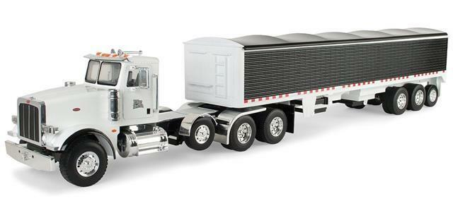 NEW ERTL 1 16th SCALE BIG FARM PETERBILT 367 W  GRAIN TRAILER (LP53318)