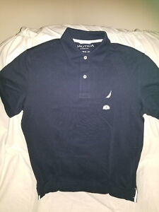 Nautica camisa tipo polo para Hombres azul oscuro - Polo shirt for ... d753e680ef12f