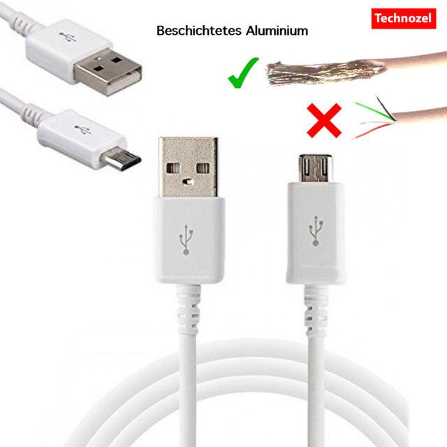 Micro USB Ladekabel Kabel Datenkabel für Samsung Galaxy A3 A5 A7 (2015, 2016)