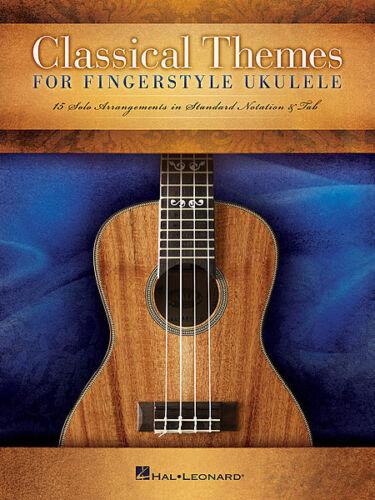 Classical Themes for Fingerstyle Ukulele Sheet Music 15 Solo Arrangeme 000127940