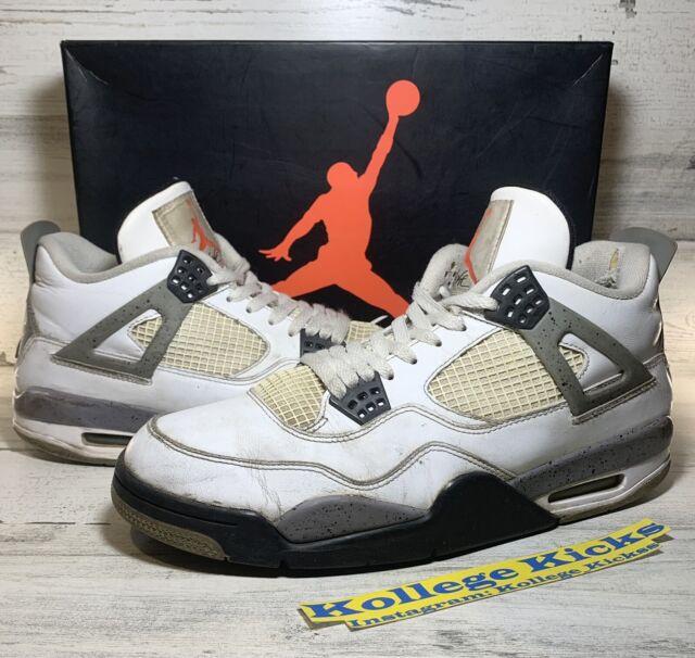 Size 10.5 - Jordan 4 Retro Cement 2012
