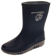 0fea2f525964 Boys Girls DUNLOP Elephant Wellington Boots Kids Waterproof Size 4 8 9 11 12