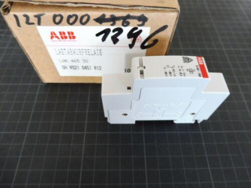1 x ABB Lastabwurfrelais LAR 465 30 E451 15A GH V021 0451 R12 bzw