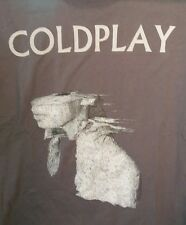 Cold Play Concert Shirt Adult XL Tour Band Gray Mens