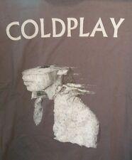 Cold Play Concert Shirt Adult XL Tour Band Gray Mens