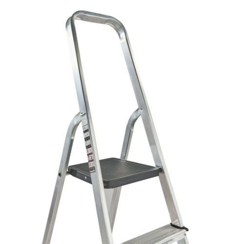 Youngman 6 Tread Atlas Platform Step LaddersAluminium Steps356312 00