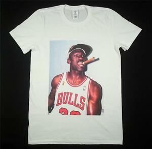 49400fc3f1ff97 Michael Jordan White T-Shirt SMALL-XXXL Supreme Basketball Bordeaux ...
