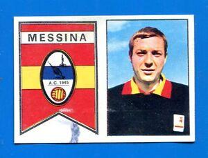 BARONCINI FIGURINA CALCIATORI PANINI 1967//68 MESSINA