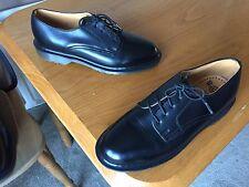 Vintage Dr Martens Black low profile ward shoes UK 6 EU 39 1461 steed England