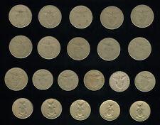 5 Centavos 21 pcs. US Philippines Coin 1903 - 1945 set 4