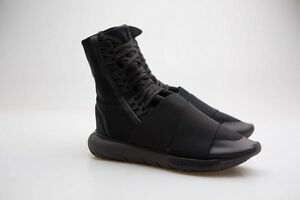 edbeb460258 Details about Adidas Y-3 Men Qasa Boot black core black utility black BY2629