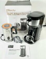SBOLY Milk Frother K-Cup Large Coffee Ground Brewer KCM-209.O3A
