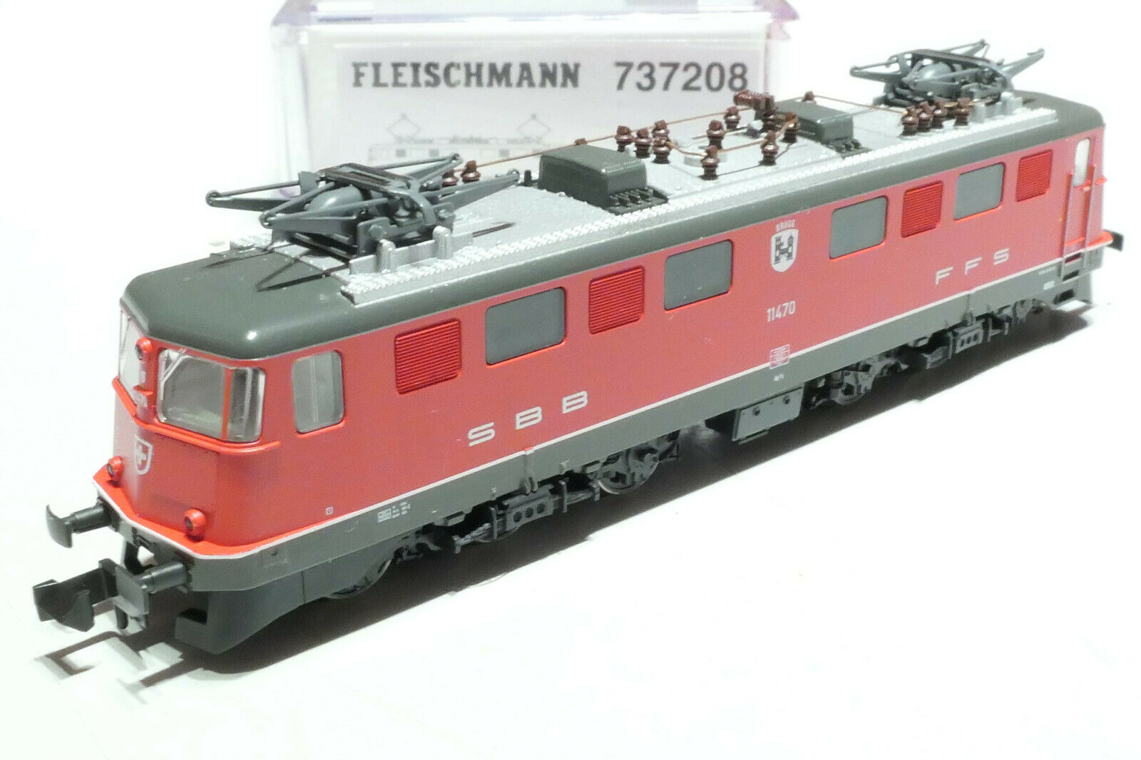 Fleischuomon N SBB Ae 66 11470 ROSSO 737208 NUOVO OVP