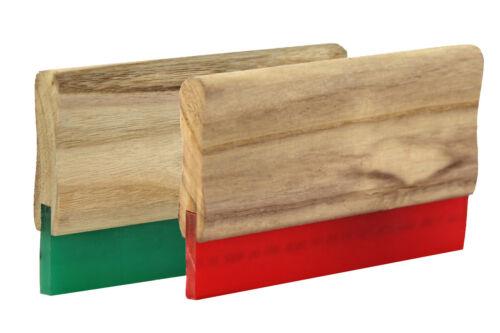 20cm Holz-Rakel in 65 70 75 Shore Siebdruckrakel Textildruck Holzrakel Siebdruck