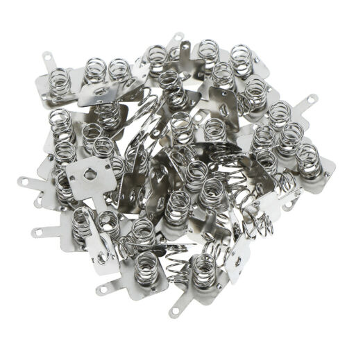 50Pair battery shrapnel AA or AAA battery spring positive and negative contactS!
