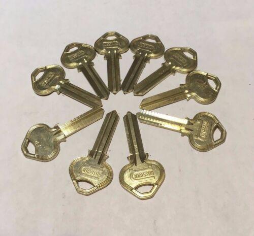2, 5 or 10 Lot of Corbin Russwin 6 Pin Key Blanks 6D2R A1011D2