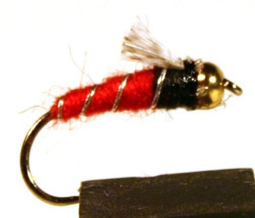Available in size 8-14 ICE FLIES 4-pack Watson´s Fancy Bead head.