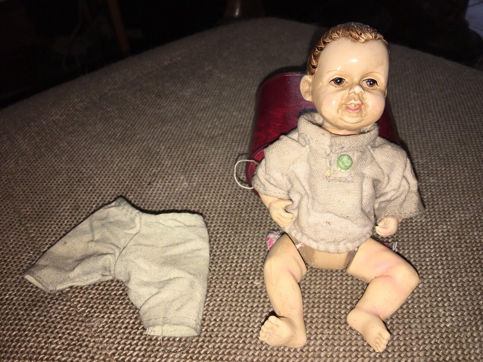 Petit Babypuppe Antik Antik Antik Gegliedert Porzellan Mehrfarbig f47f07