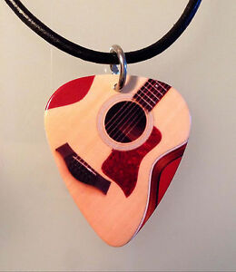 Guitar-Pick-Necklace-Jewelry-TAYLOR-ACOUSTIC-GUITAR