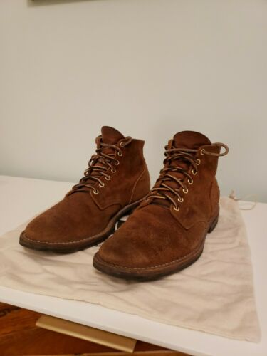 Viberg Service Boot 2030 Aged Bark Roughout 10