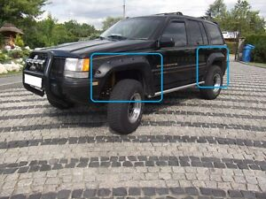 JEEP-GRAND-CHEROKEE-ZJ-1992-1998-WHEEL-ARCH-FENDER-FLARES-EXTENSIONS-NEW