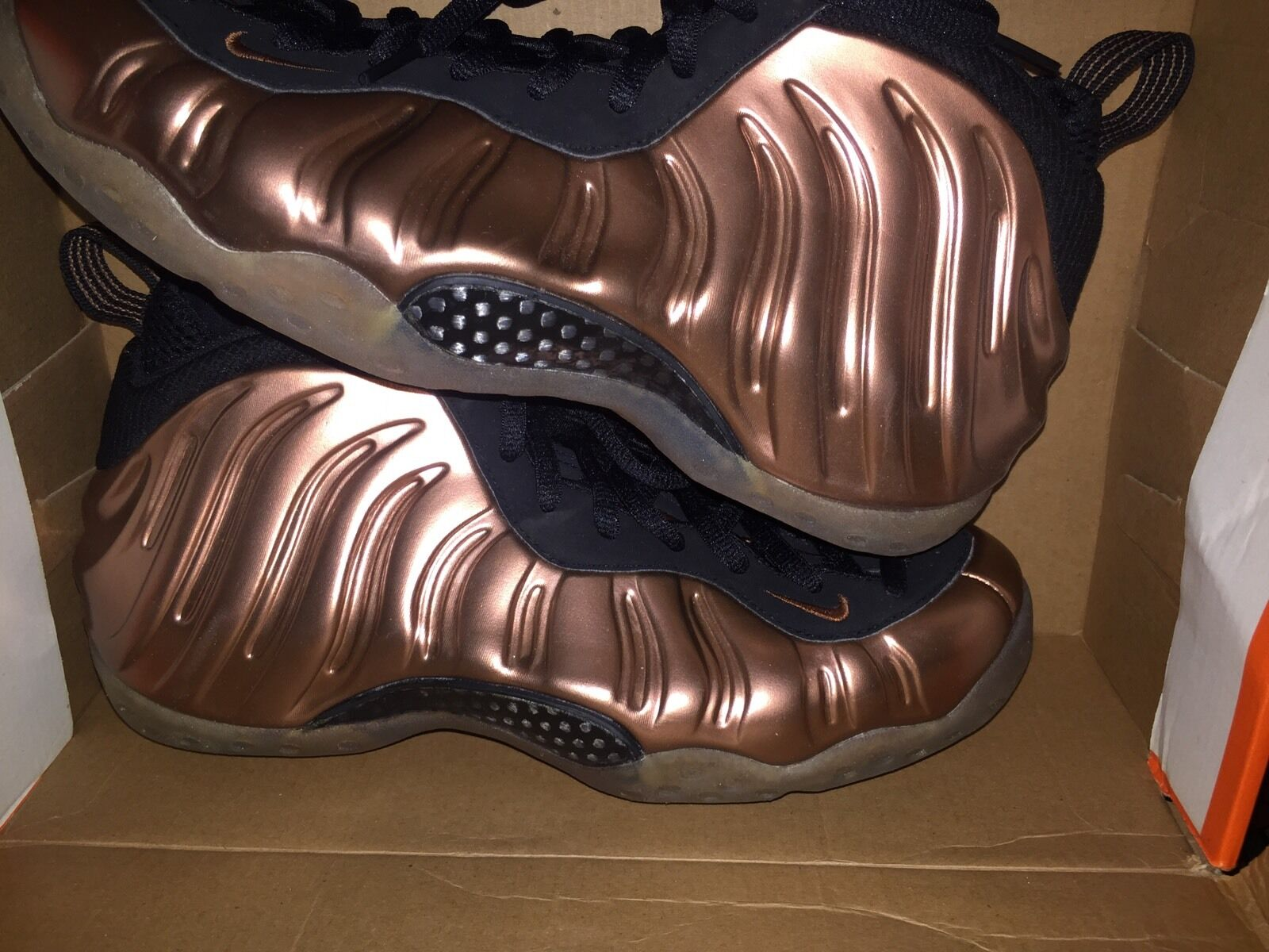 Nike Foamposite Copper  Cheap and fashionable