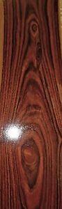 "Rosewood Kingwood wood veneer 5/"" x 85/"" raw no backing 1//28/"" thickness A grade"