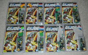 Lot 1986 GI Joe Cobra BATS v1 Army Builder Set Figures File Card Backs Complete