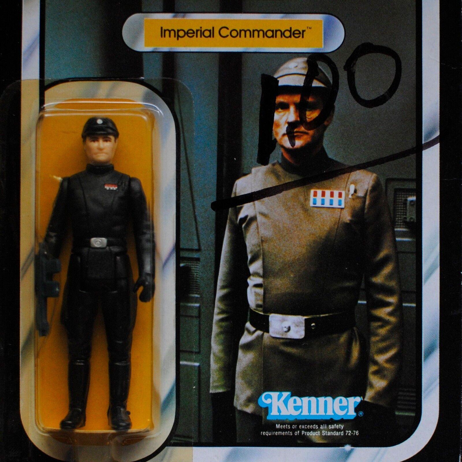 almacén al por mayor Estrella Wars Imperio Contraataca Kenner Vintage Imperial Imperial Imperial comandante 41 menta en tarjeta Cochedada figura  Felices compras
