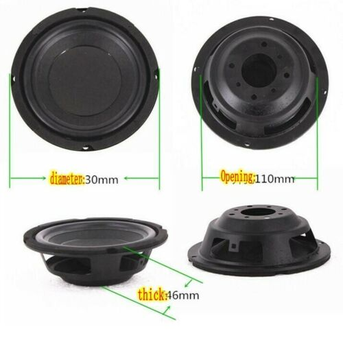 "1pcs 5/""inch 130mm Passive Radiators Bass radiator Passive speaker Home Audio DIY"